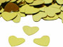 Heart Confetti, Gold Available by the Pound or Packet